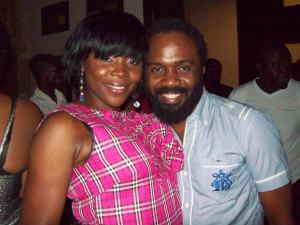 Omawumi with Noble Igwe