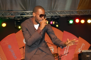 9ice rocking the Inspire concert audience