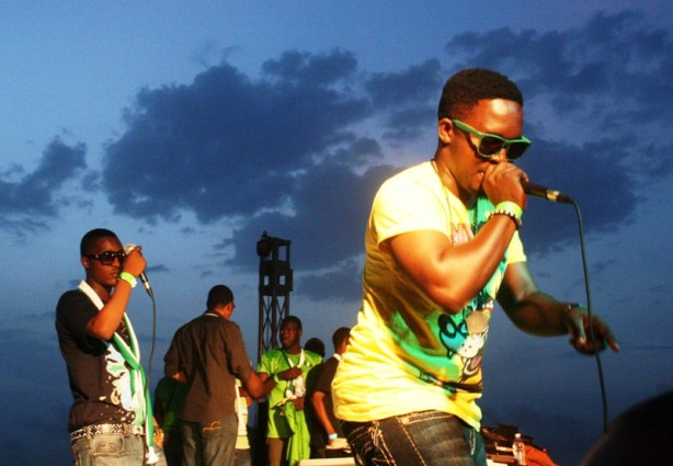 MI and Jesse Jagz showing 'em 'watsup!'