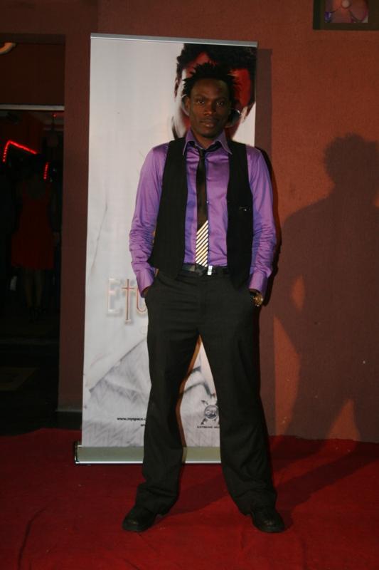 Andre Blazes the red carpet