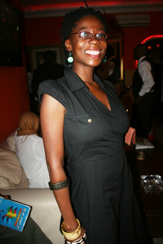 Host of the evening, Tosyn Bucknor