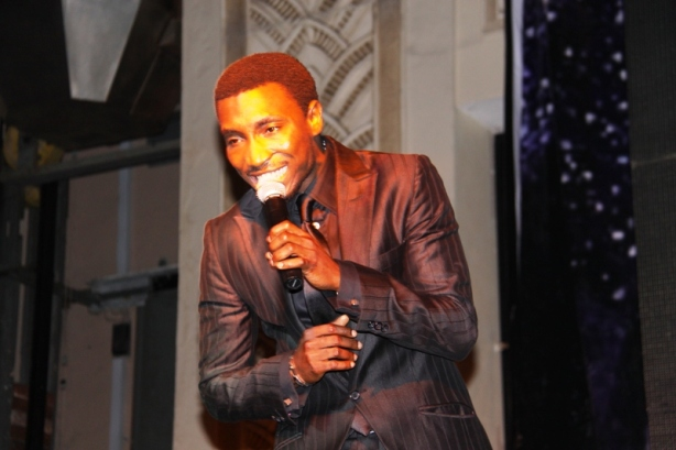 Timi Dakolo sang 'We Are The World/Heal The World/I'll Be There' - effectively reducing a few girls to tears