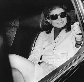 You've heard of Jackie O. glasses? Well, here sit the originals! (photo jackiek-blogspot.jpg)