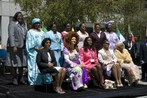 A gathering of First Ladies will always produce amazing results (photo thewip.com)