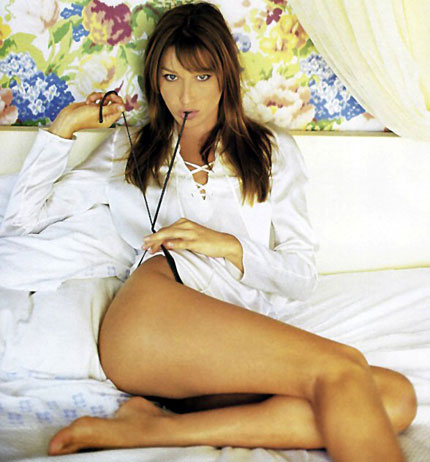 This is from before she became Mrs. Sarkozy (photo wordpress.com)