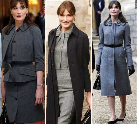 ... and she's the First Lady of France! (photo fash-eccentric.com)