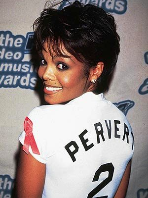 "29 year old Janet: She must have inspired the ""Rihanna Haircut"" (Photo People.com)"