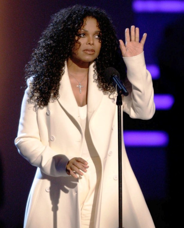 At this year's BET Awards where she made a tribute to her recently dead brother Michael (Photo BET.com)