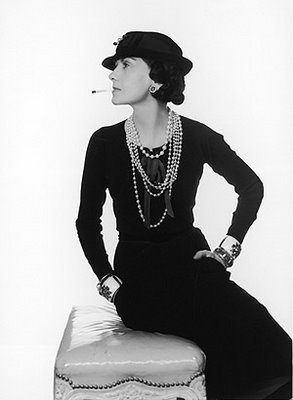 Where it all began...Coco Chanel... (Photo http://bartboehlert.blogspot.com/2008/09/coco-chanel.html)