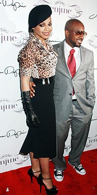 Rumours abound abound the relationship status between Jermaine Dupri and the twice-married Janet (photo Dara Kushner)