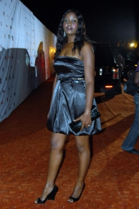 This is how we do it - A simple LBD, classy accessories, glossy hair; red-carpet perfect at Inspire (Photo NEXT)