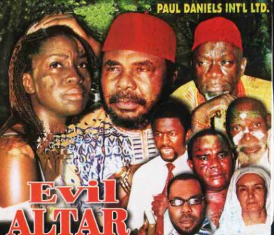 The CD cover of an Edochie film
