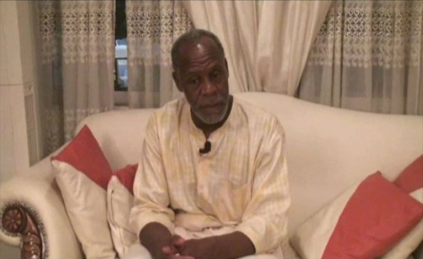 Danny Glover, in Lagos, earlier this year (PHOTO by Queen Martins)