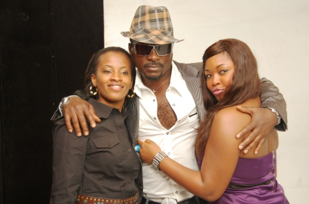 Because ladies love Nollywood actors with hairy chests...