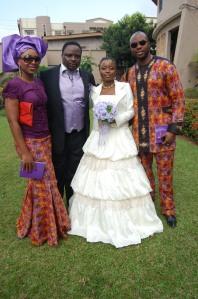 Nollywood actress Dakore Egbuson was accompanied by Olumide Akande