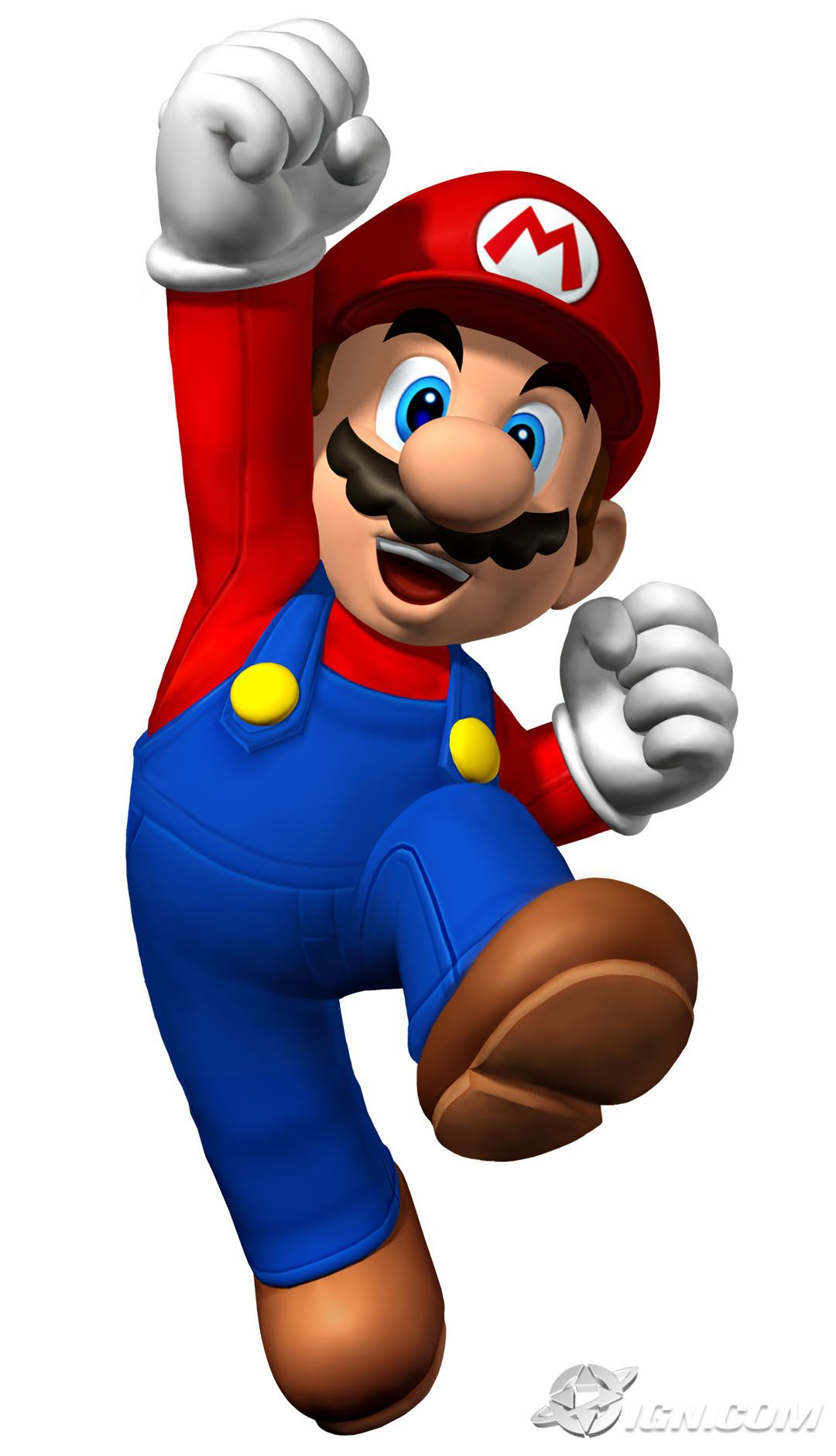 It's just a graphic of Striking Mario Bro Pics